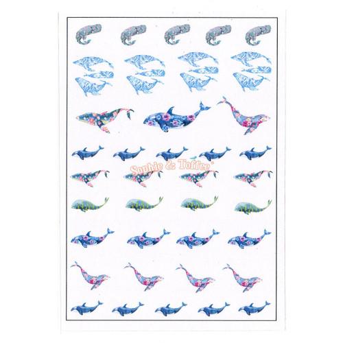 Dolphin Ocean Resin Design Film