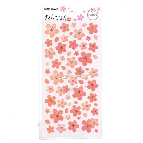 Sakura Cherry Blossom Flower Stickers