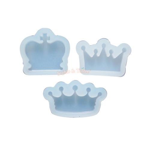 Crowns Bundle Silicone Mold (3 pieces)