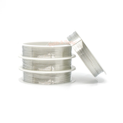 3mm Silver Copper Craft Wire (20 meters)