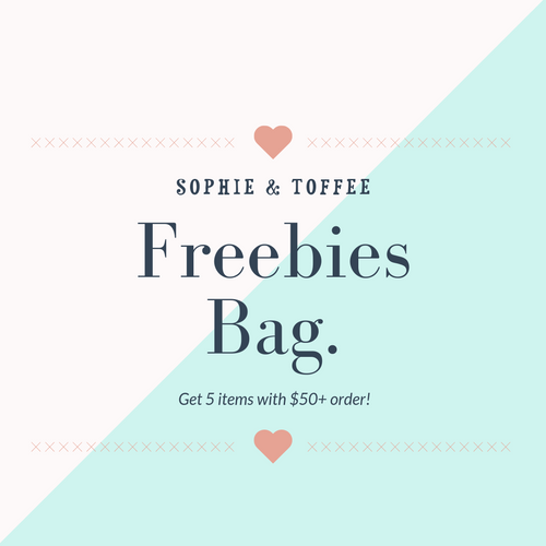 S&T 5 Items Freebies Bag