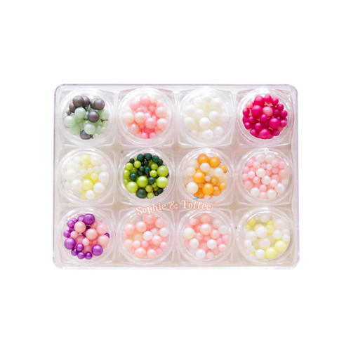 Candy Round Pearls Assortment (12 pieces)