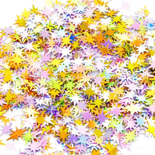 Star Burst Glitters Iridescent Confetti (30grams)