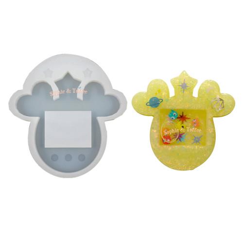 Heart Ears Tamagotchi Silicone Mold