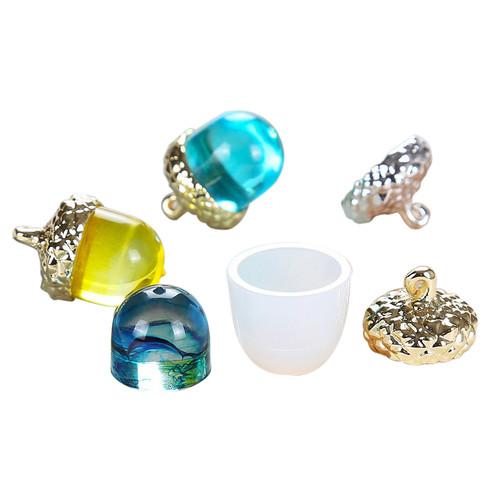 Acorn Cap Silicone Mold Jewelry