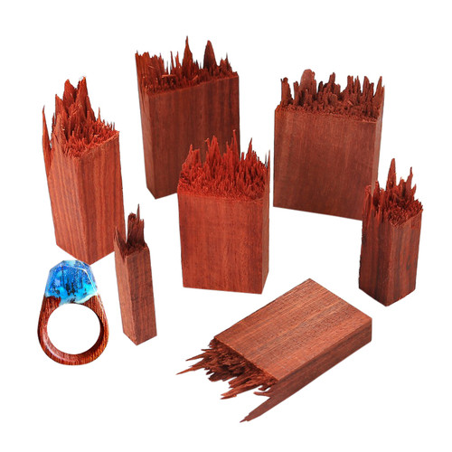 Enchanted Brown Wood for Resin Craft