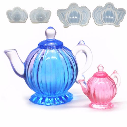 3D Miniature Teapot Silicone Mold