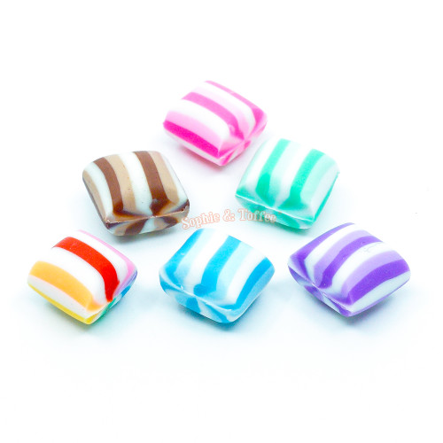 Colorful Fake Licorice Candy (6 pieces)