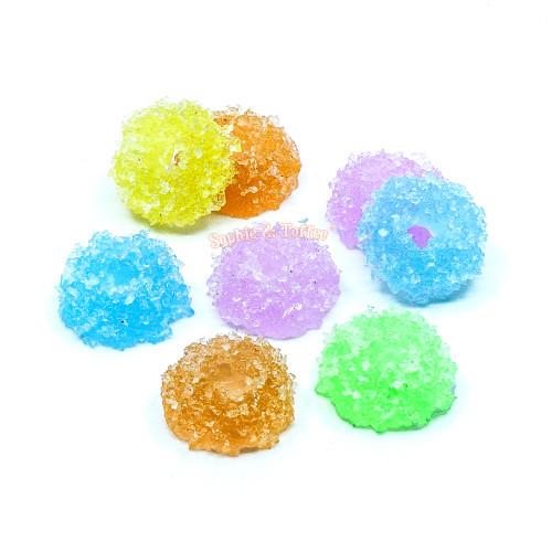 Squishy Fake Sugar Rings Cabochon (8 pieces)