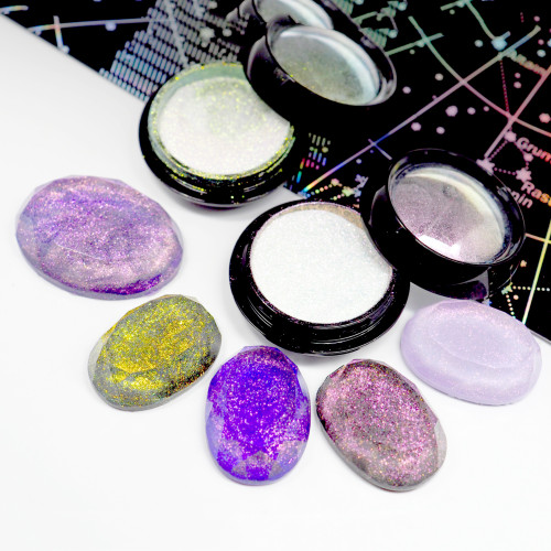 Iridescent Floating Galaxy Resin Glitter (High Quality)
