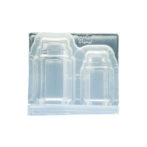 3D Miniature Container Jar Silicone Mold
