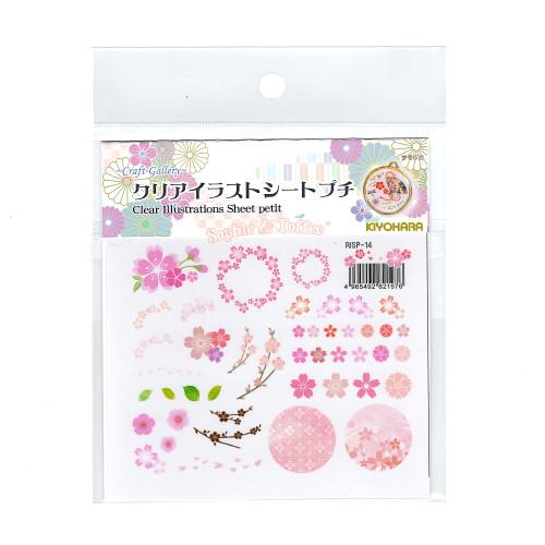 Sakura Cherry Blossom Clear Film (Made in Japan)