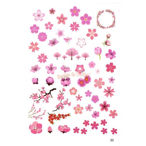 Sakura Cherry Blossom Clear Resin Film