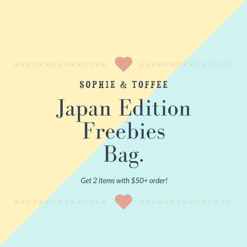 S&T 2 Items Japan Edition Freebies Bag