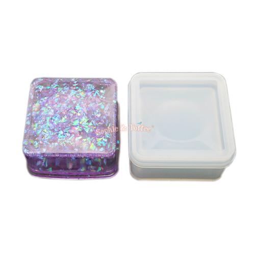 Square Trinket Box Silicone Mold