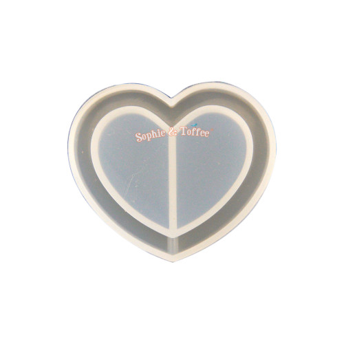 Heart Shaker Silicone Mold (3 pieces)