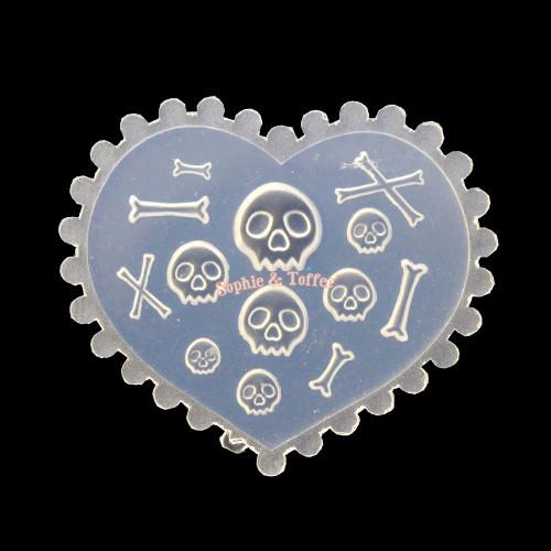 Skull Crossbones Silicone Mold