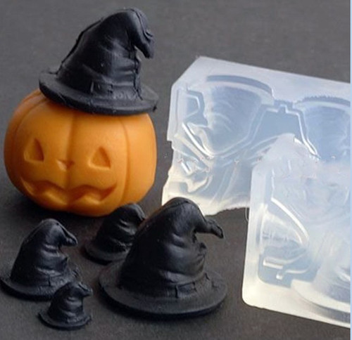 3D Witch Hat Silicone Mold