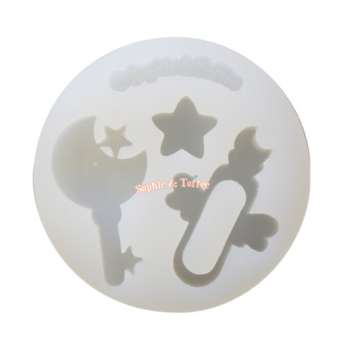 Magical Vial Key Silicone Mold (Small)