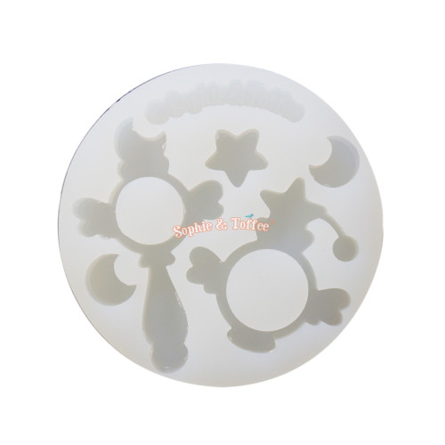 Magical Scepter Perfume Silicone Mold (Medium)