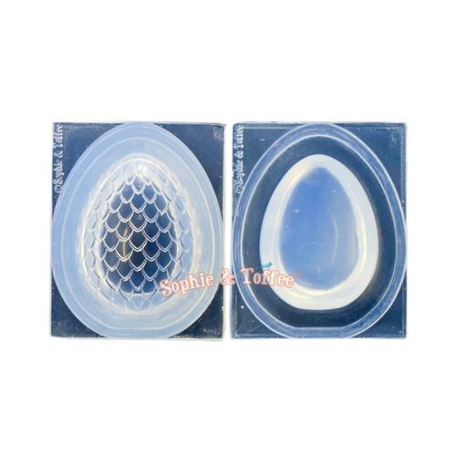 3D Dragon Egg Silicone Mold