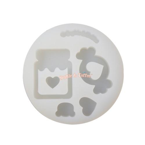 Candy Jar Silicone Mold (Medium)