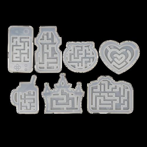 Maze Theme Silicone Molds