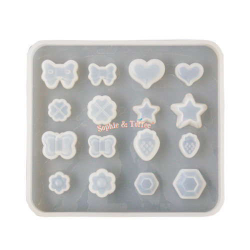 Miniature Assortment Popular Designs Silicone Mold