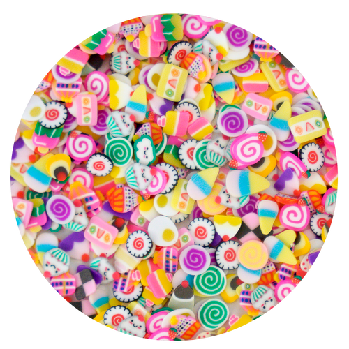 Assorted Fake Food Sprinkles Slices (20grams)