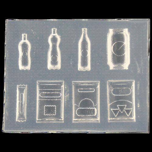 Soda Drinks & Snacks Miniature Silicone Mold