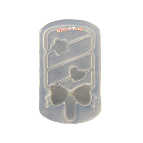 Marshmallow Stick Clear Silicone Mold