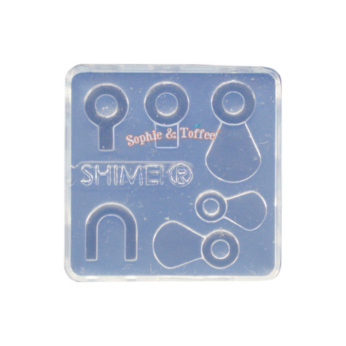 Blank Bails & Hoop Silicone Mold