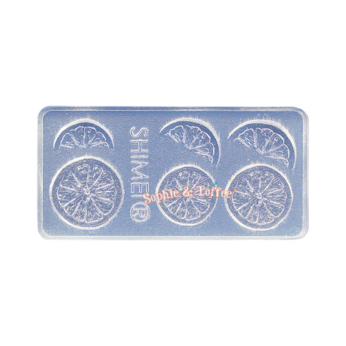 Fruit Slices Miniature Silicone Mold