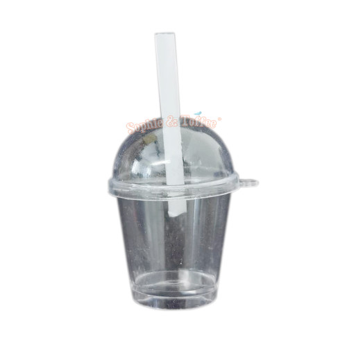 Bubble Tea Cup with Straw (3 sets)