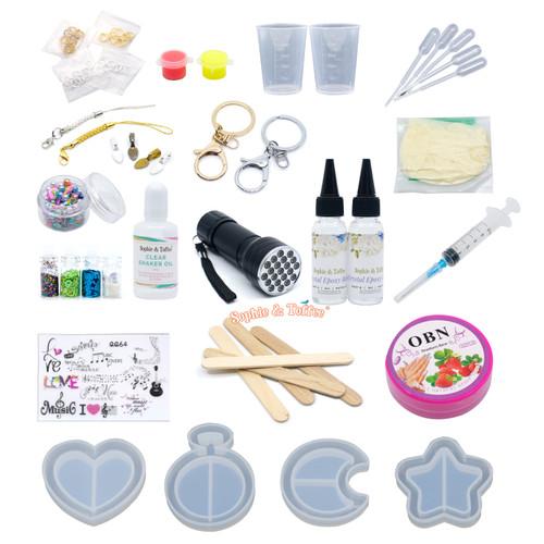 Shaker Molds Resin Craft Kit (Moon)