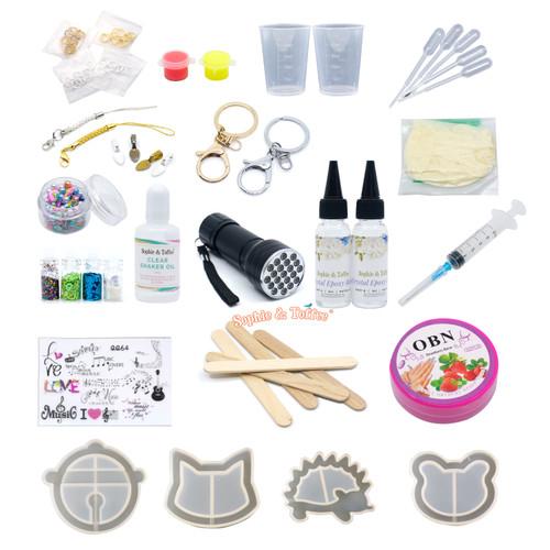 Shaker Molds Resin Craft Kit (Cat)