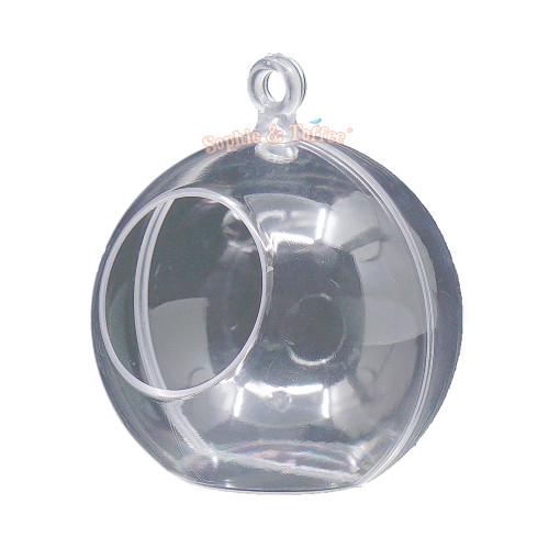 Acrylic Round Terrarium Hanging Globe (2 sets)