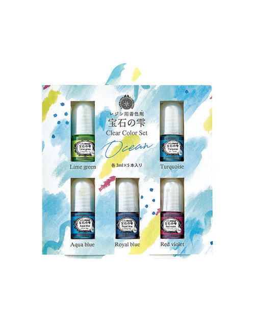 Ocean Jewel Color Clear Color Set (Made in Japan)