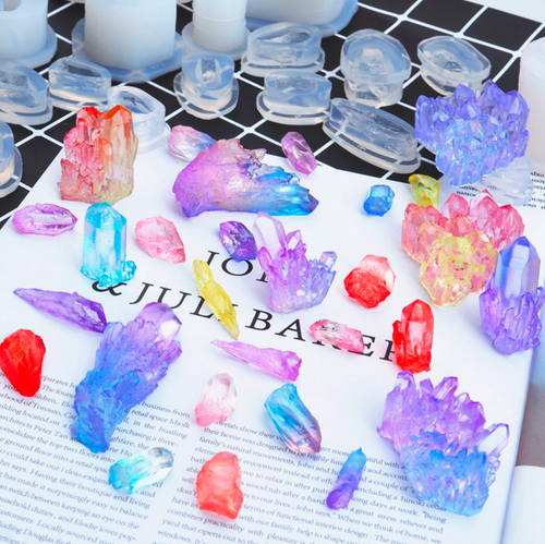 Crystal Shards Clear Silicone Mold