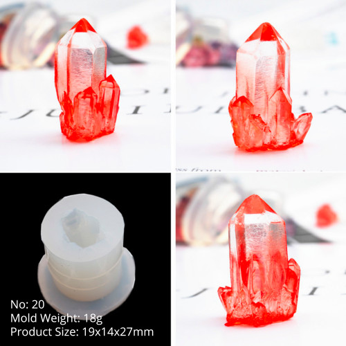 Small Single Crystal Silicone Mold