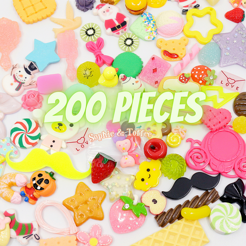 Assortment Cabochons Grab Bag (200 pieces)