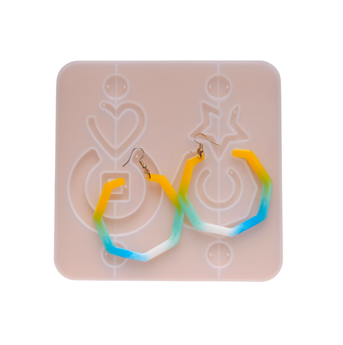 Dangling Earrings Silicone Mold