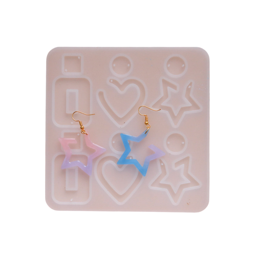 Pendant Earrings Dangling Silicone Mold