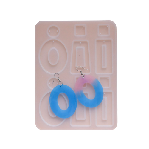 Large Loops Earring Silicone Mold
