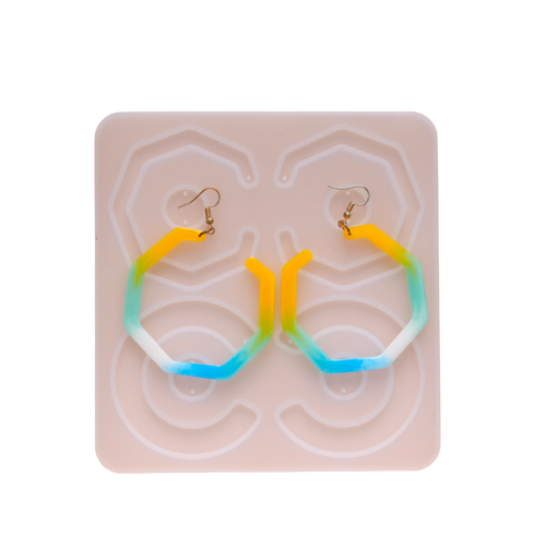 Large Loop Earrings Silicone Mold