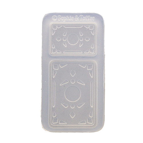 Miniature Blank Playing Card Silicone Mold (Exclusive)