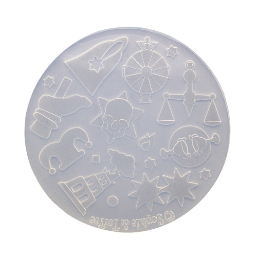 Wheel of Fortune Tarot Cards Silicone Mold (Exclusive)