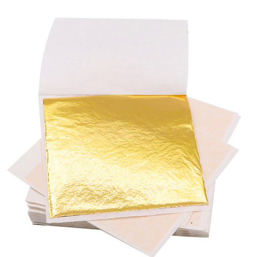 Gold Leaves Foil Sheet (100 sheets)