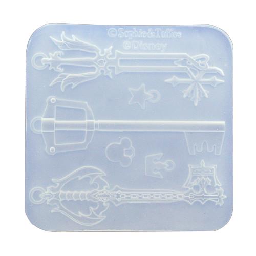 Disney Kingdom Hearts Key-blades Mold (Exclusive)