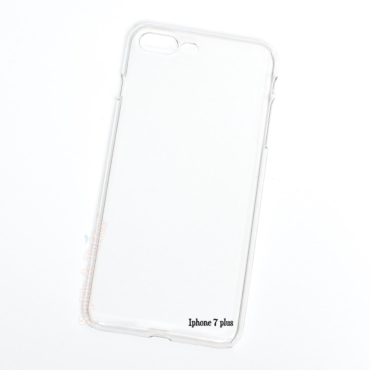 buy popular 34e2b 57dbd IPhone 7 Plus Clear Hard Case - 2 pieces